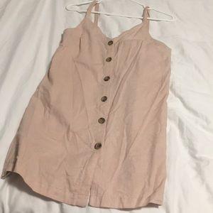 Topshop button up dress